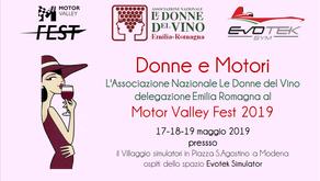 Donne e Motori - Le Donne del Vino Emilia Romagna al Motor Valley Fest 2019
