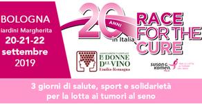 Race for the Cure Bologna - 20-22 settembre 2019