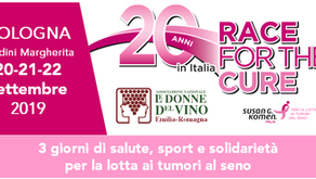 Race for the Cure Bologna - 20-22 settembre 2019