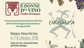 L'Associazione Nazionale Donne del Vino dell'Emilia Romagna a Enologica 2018