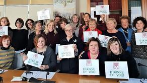 Donatella Cinelli Colombini rieletta presidente dell'Associazione Nazionale Le Donne del Vino