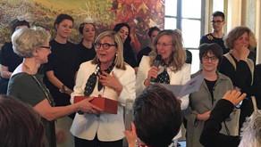 Neria Rondelli socia dell'anno dell'Associazione Nazionale Donne del Vino Emilia Romagna