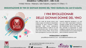I VINI RIVOLUZIONARI DELLE GIOVANI DONNE DEL VINO A VINITALY 2019