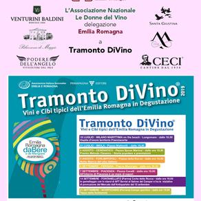 Le Donne del Vino dell'Emilia Romagna a Tramonto DiVino 2019