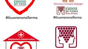 #ilcuorenonsiferma - Le Donne del Vino Emilia-Romagna per il Policlinico Sant'Orsola di Bologna