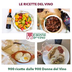 """LE RICETTE DEL VINO: ECCO I 900 PIATTI """"LOCAL"""" DELLE DONNE DEL VINO"""