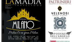 Le Donne del Vino su La Madia Travelfood di novembre 2018