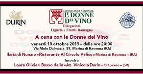 A cena con le Donne del Vino - Ristorante al Circolo Velico Ravennate