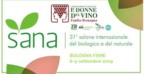 Le Donne del vino ER con Fondazione BioHabitat e l'Associazione ZR Experience al SANA 2019