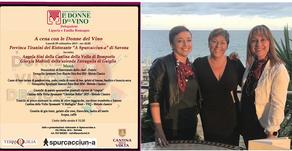 A cena con Le Donne Del Vino: la Liguria incontra l'Emilia Romagna - 09/09/2019