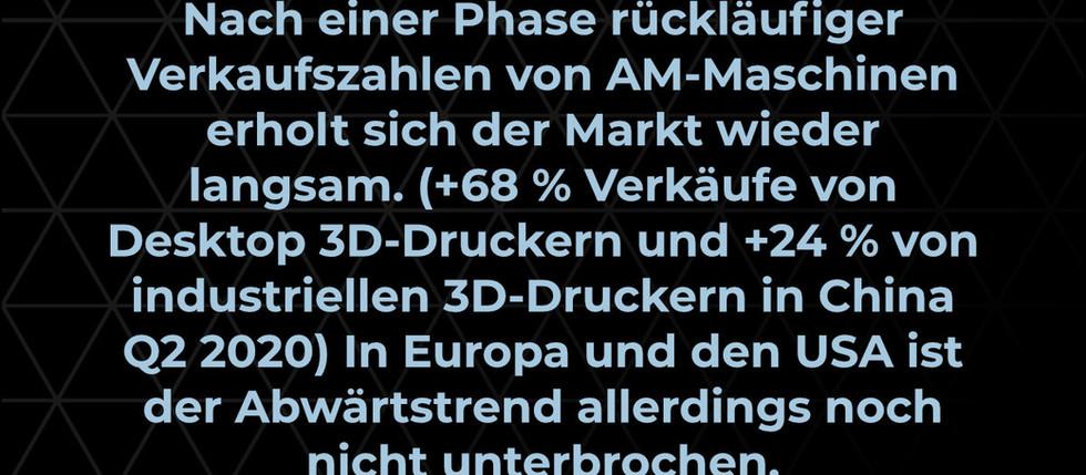 Addi(c)tive Fact: Zunahme des Absatzes von 3D-Druckern trotz Pandemie