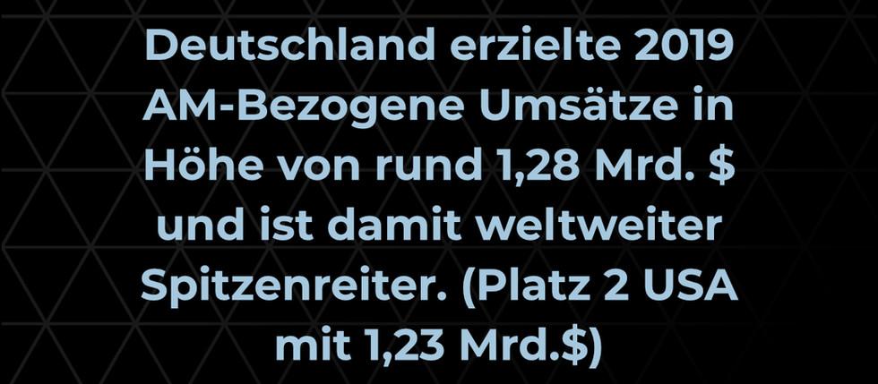 Addi(c)tive Facts: Umsätze im Bereich der Additiven Fertigung in Deutschland
