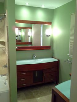 Bathroom Remodel Left