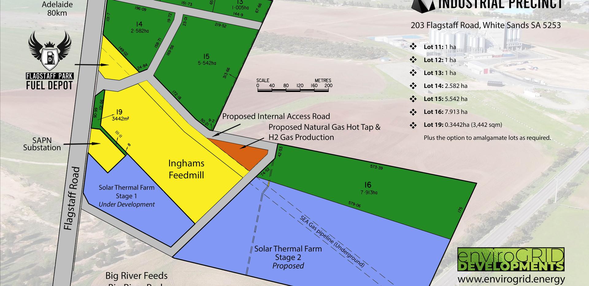 Flagstaff Park Industrial Precinct Masterplan 2021