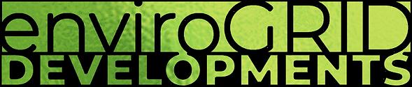 Envirogrid Logo Greengold no bg blk bord
