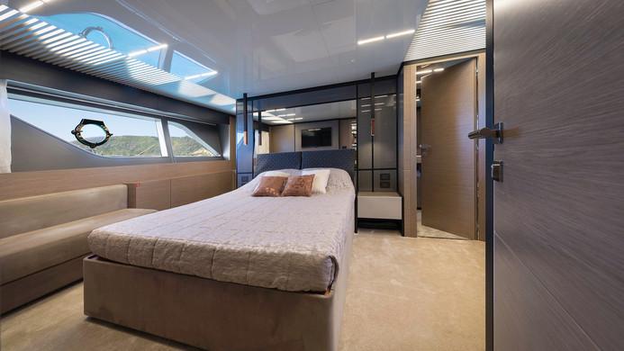 Yacht EPIC - master cabin