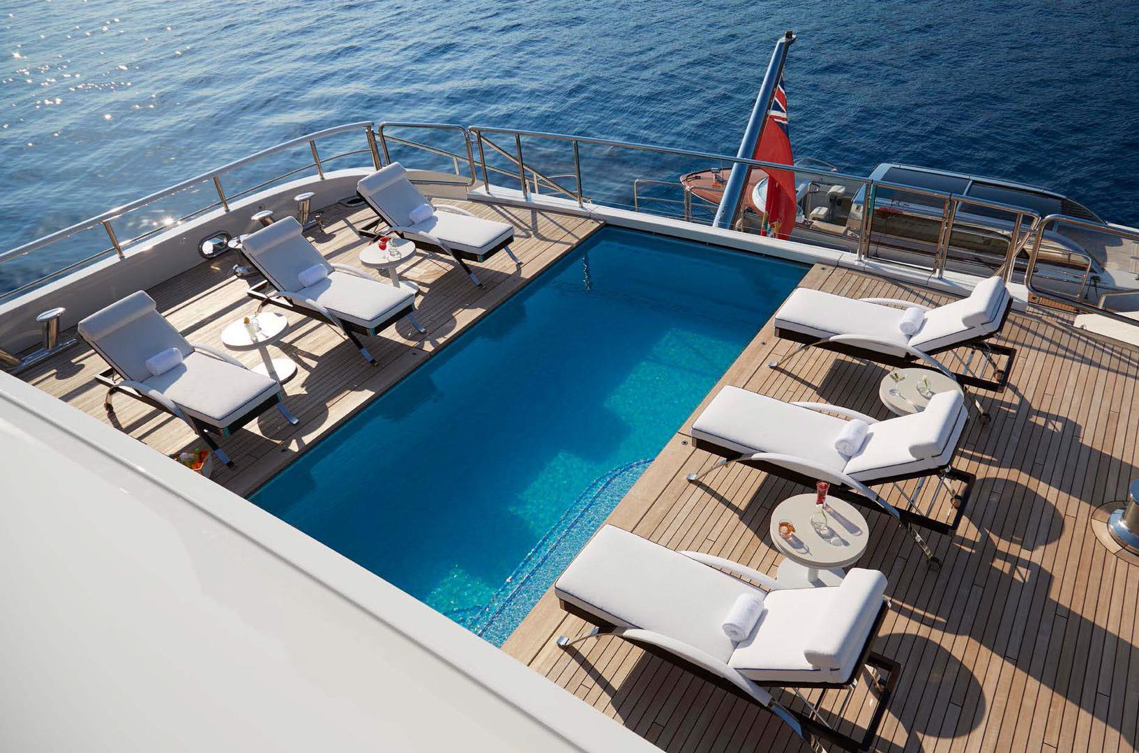 Yacht AQUARIUS - Swimming pool