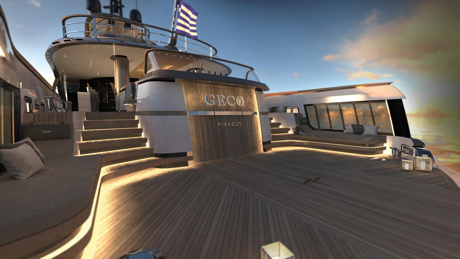 Yacht GECO - beach club