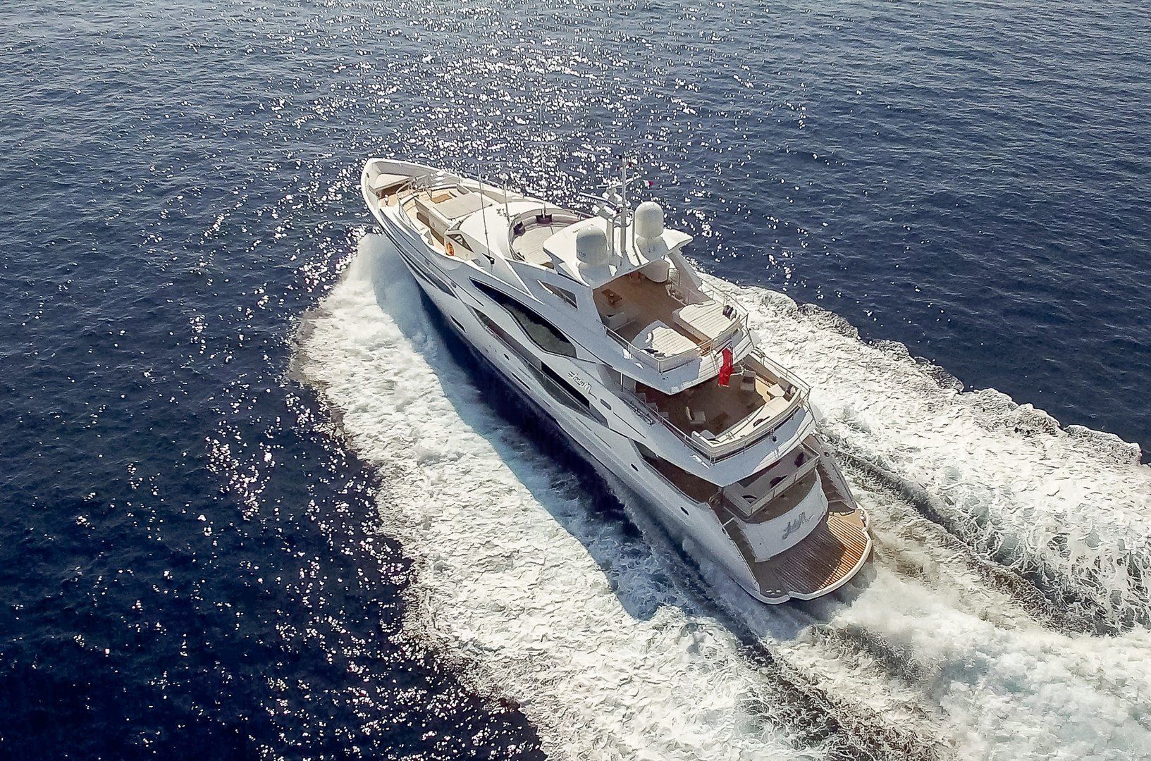 Yacht LADY M - Cruising