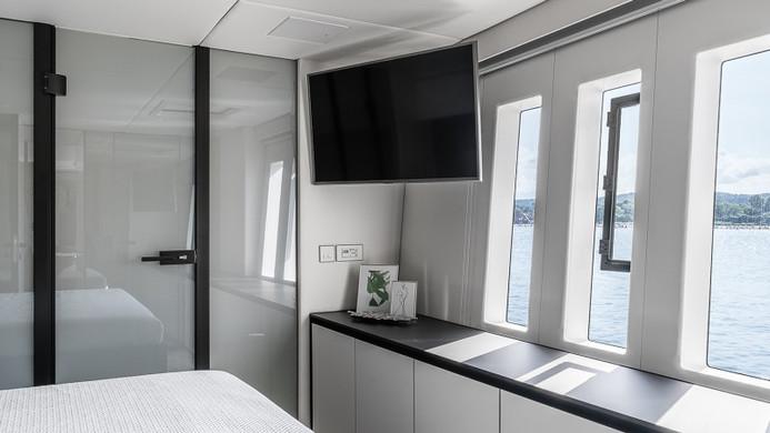 Yacht ABOVE Sunreef 80 - cabins