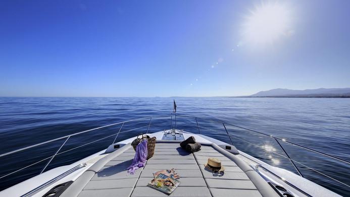 Yacht MAIA FAIR - foredeck