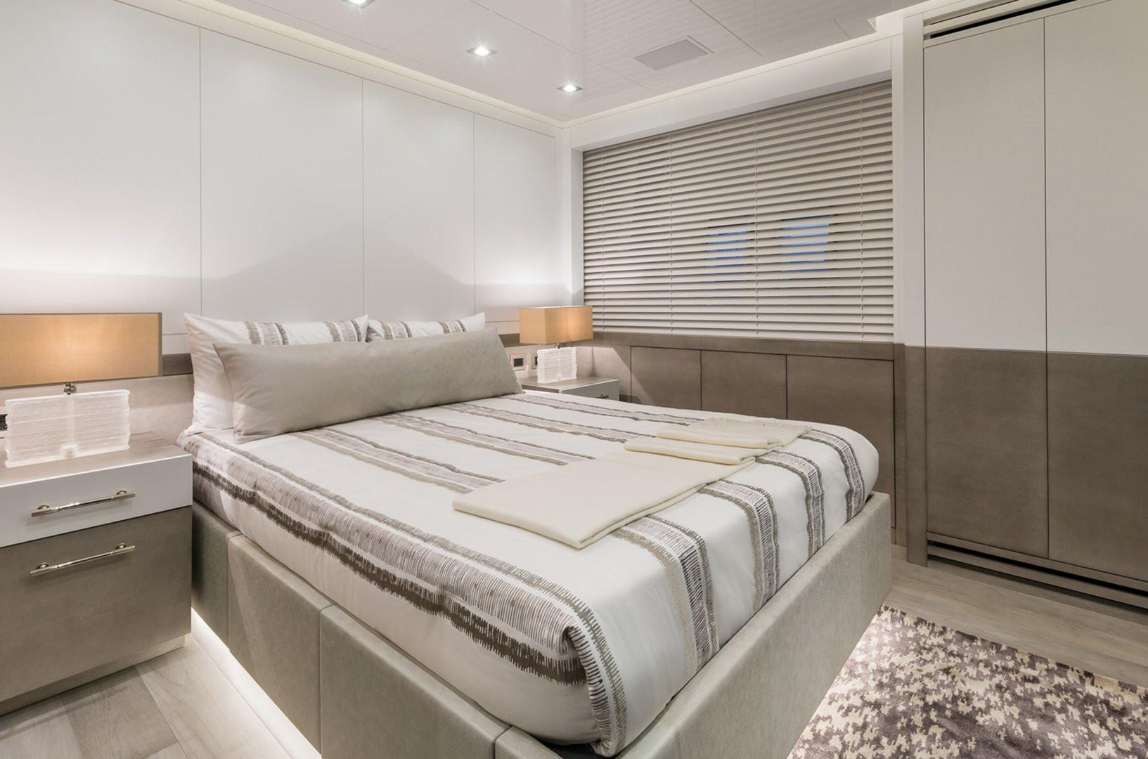 Yacht DA VINCI - guest cabin