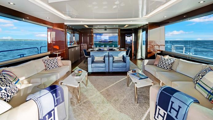 Yacht ENTERPRISE - Sunseeker 86 saloon