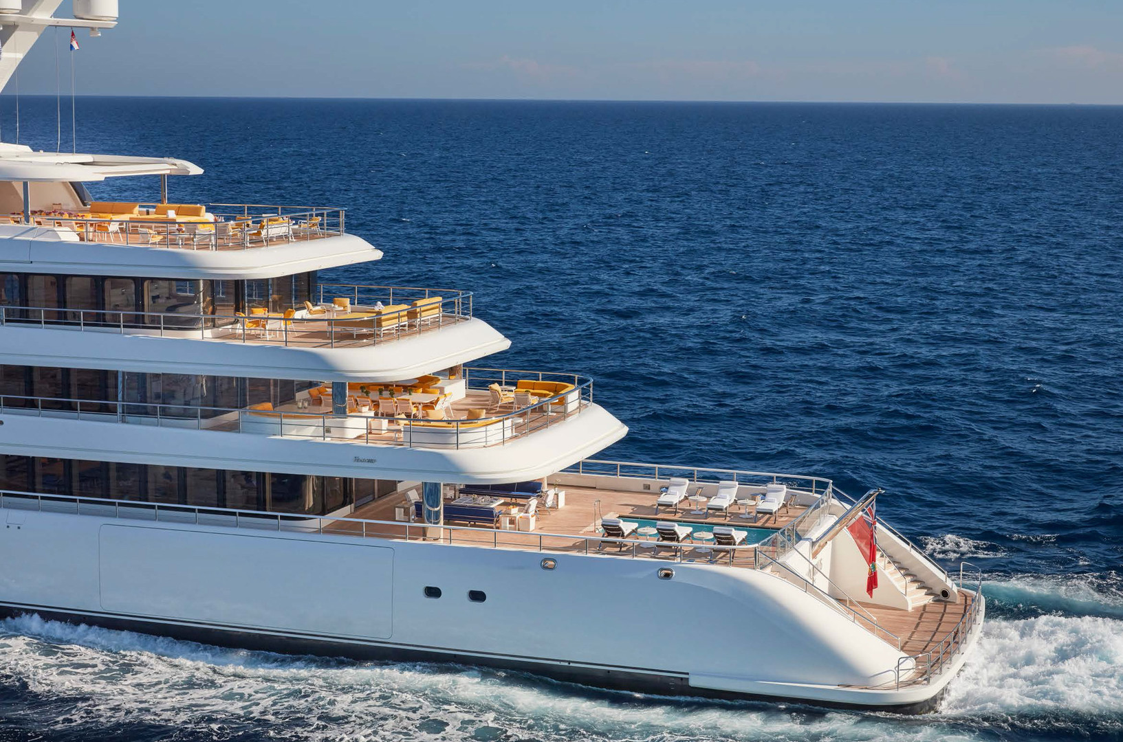 Yacht AQUARIUS - 92m mega yacht charter