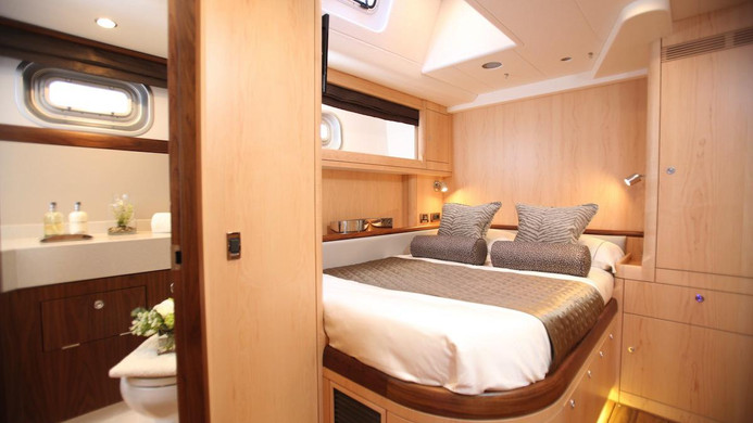 Yacht RAVEN - guest cabin
