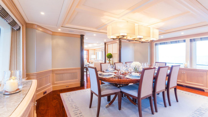 Yacht FABULOUS CHARACTER - formal dining