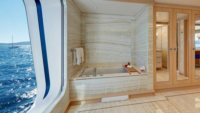 Yacht AQUARIUS - bathroom