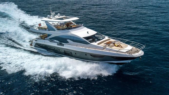 Yacht INVICTUS - underway on charter