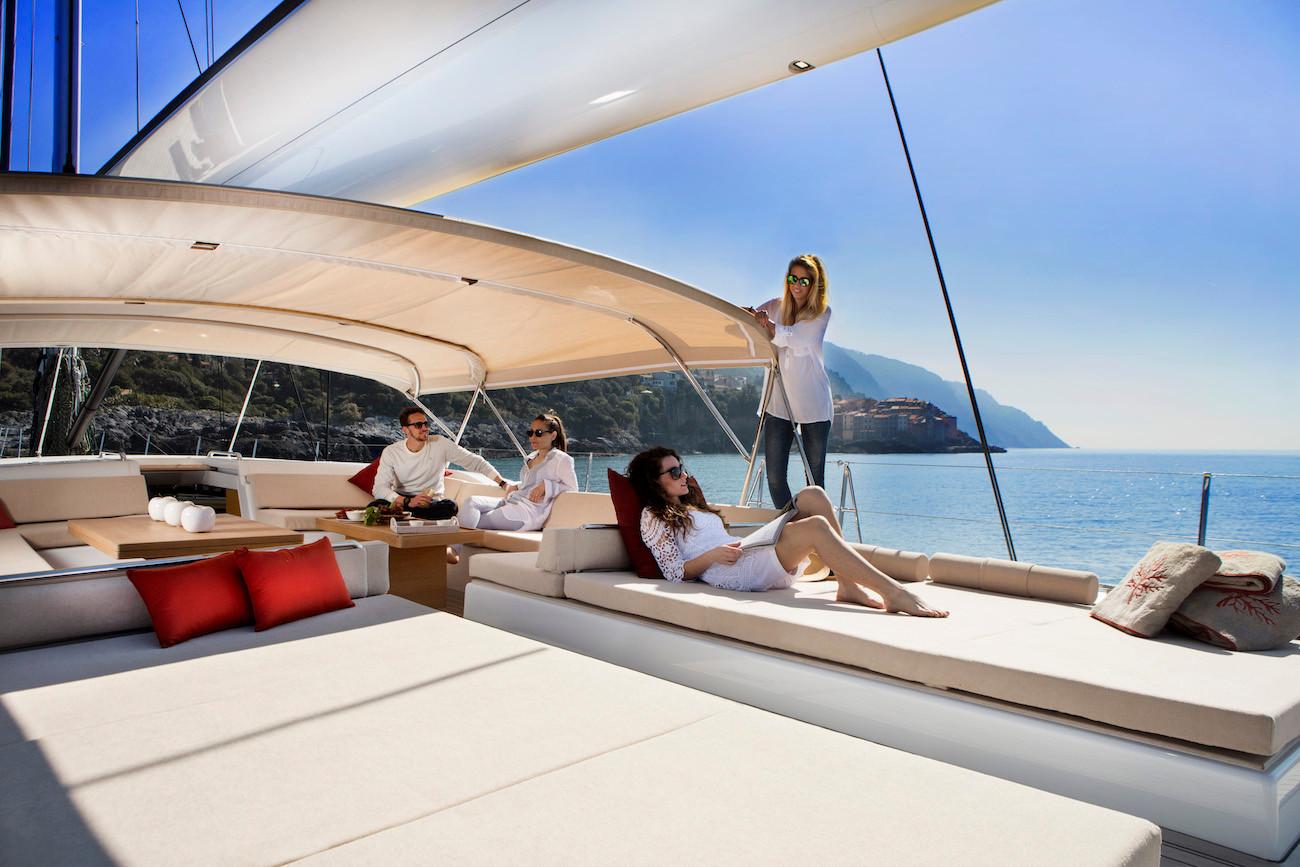 Luxury sailing yacht hire