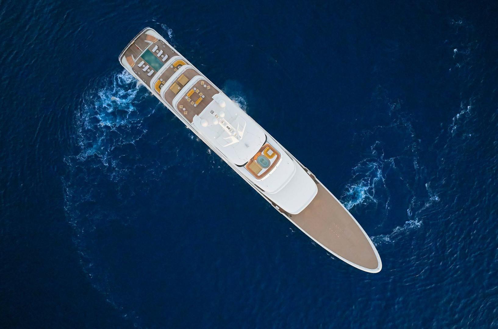 Yacht AQUARIUS - 92m mega yacht