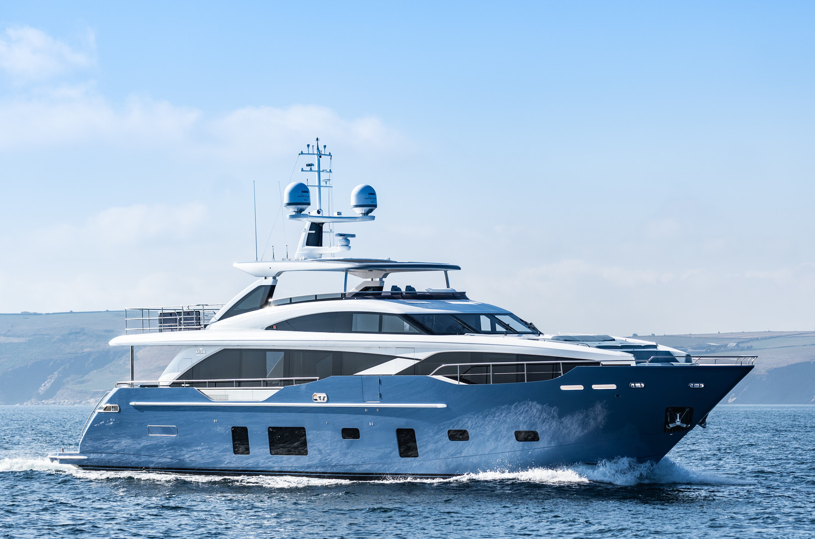 Motor Yacht HALLELUJAH - 30m Princess, cruising on charter