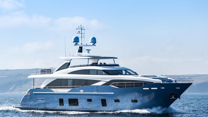 Motor Yacht HALLELUJAH - 30m Princess, cruising on charter