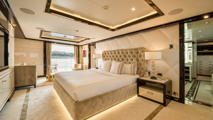 Yacht ELIXIR - master stateroom