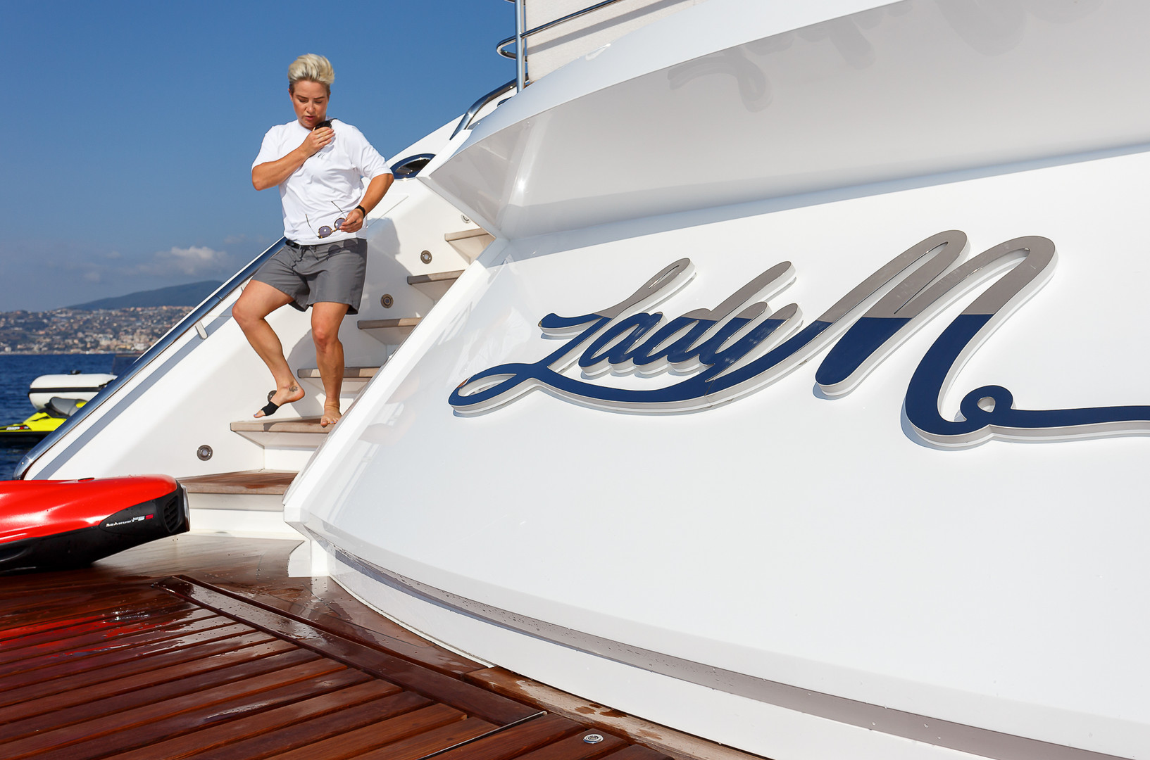 Yacht LADY M - 40m Sunseeker for charter
