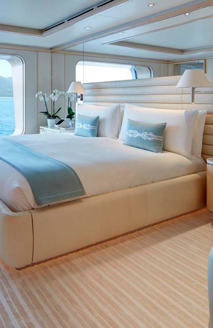 Yacht AQUARIUS - guest cabin
