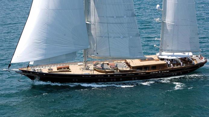 Sailing Yacht ROXANE - cruising