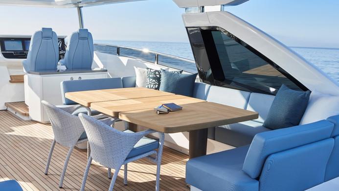 Yacht HALLELUJAH - Al fresco dining