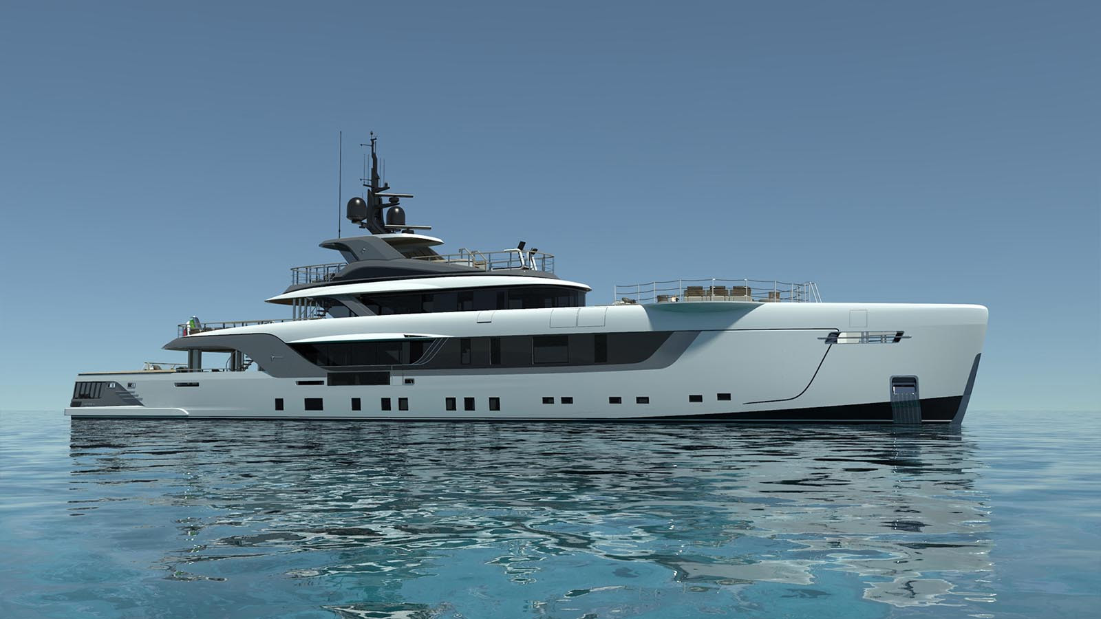 Yacht GECO - Admiral 55m