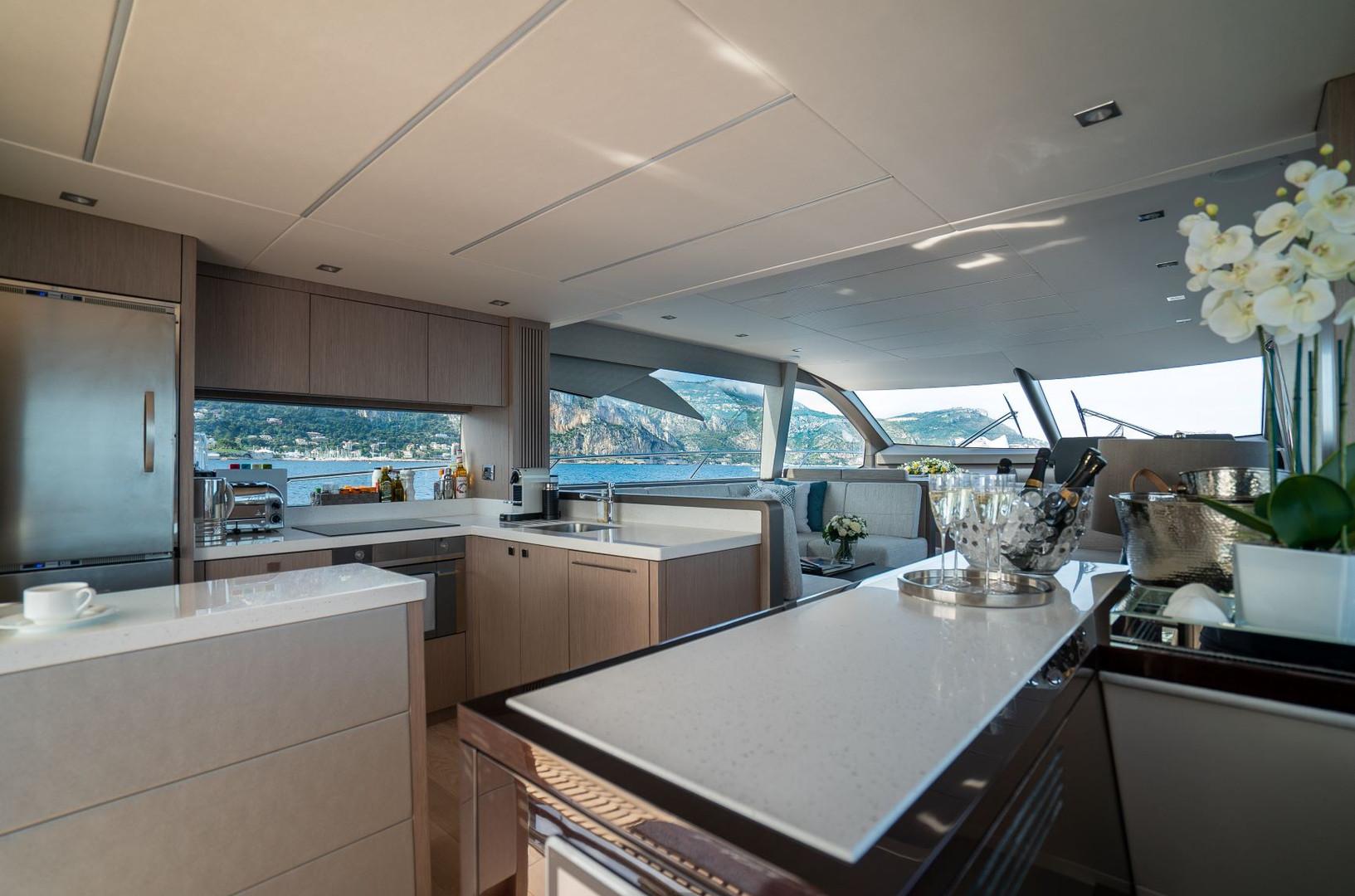 Yacht HERO - galley