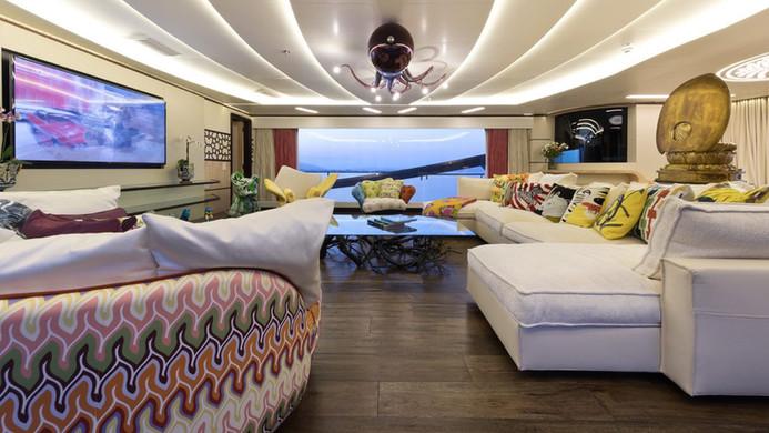 Yacht KHALILAH - saloon