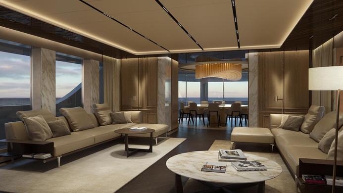 Yacht GECO - saloon