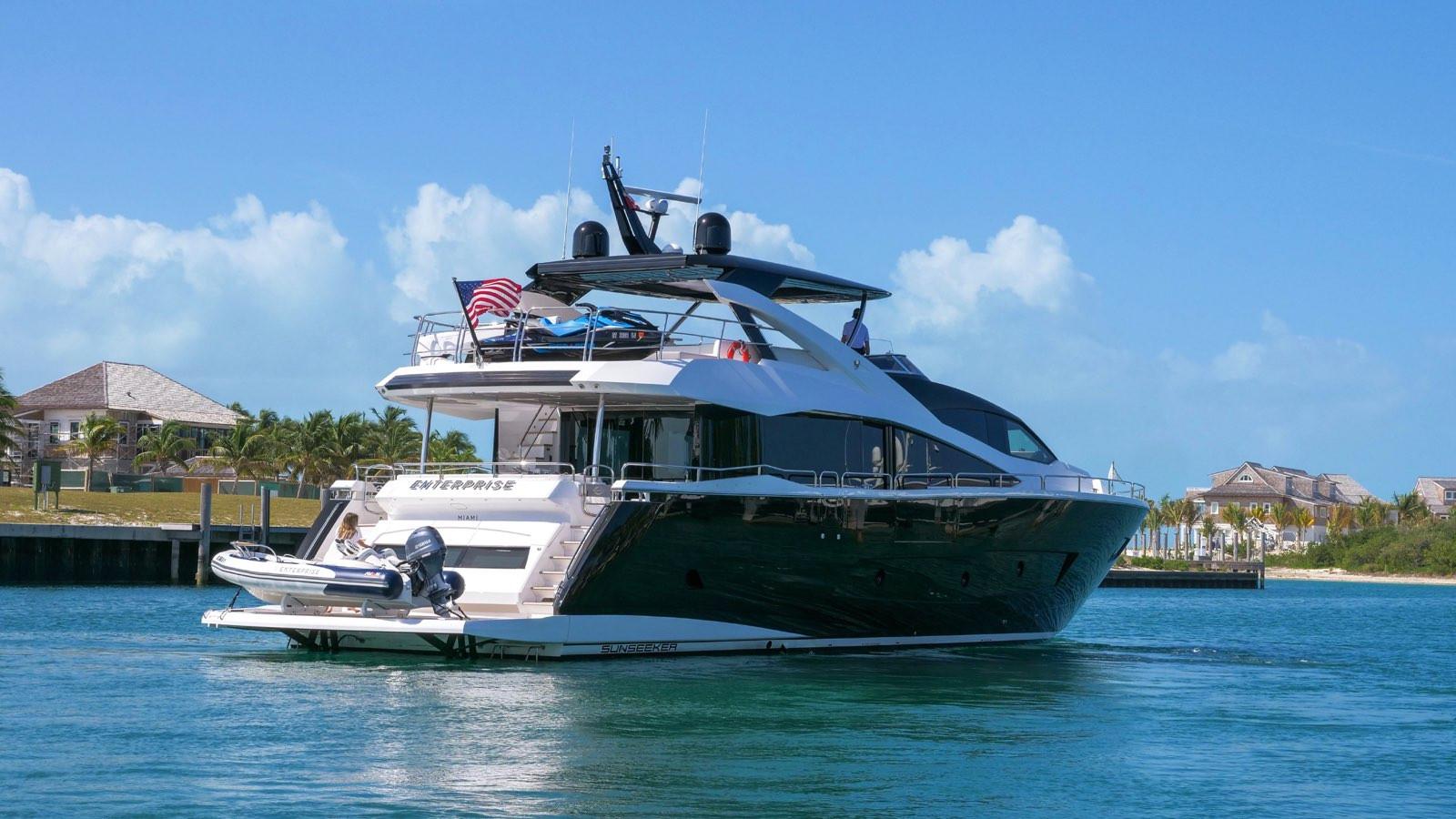 Yacht ENTERPRISE - Sunseeker 86