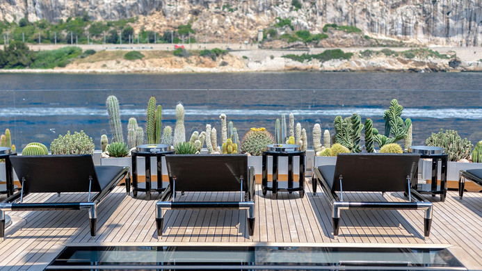Yacht SARASTAR - sun deck