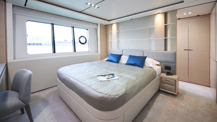 Yacht HALLELUJAH - guest cabin