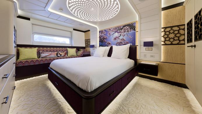 Yacht KHALILAH - guest cabin