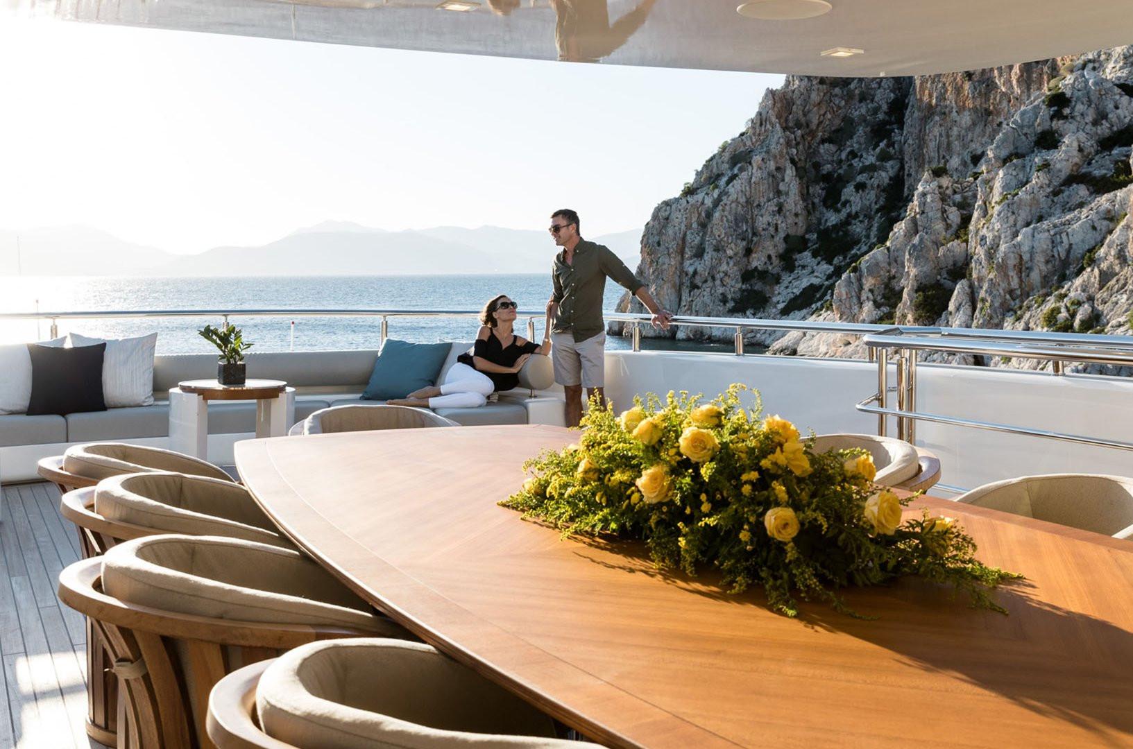 Mega Yacht O'PTASIA - on charter